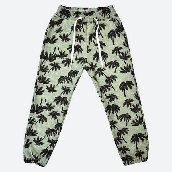 pantalon palmeras rustico nino Little Manny verano 2022
