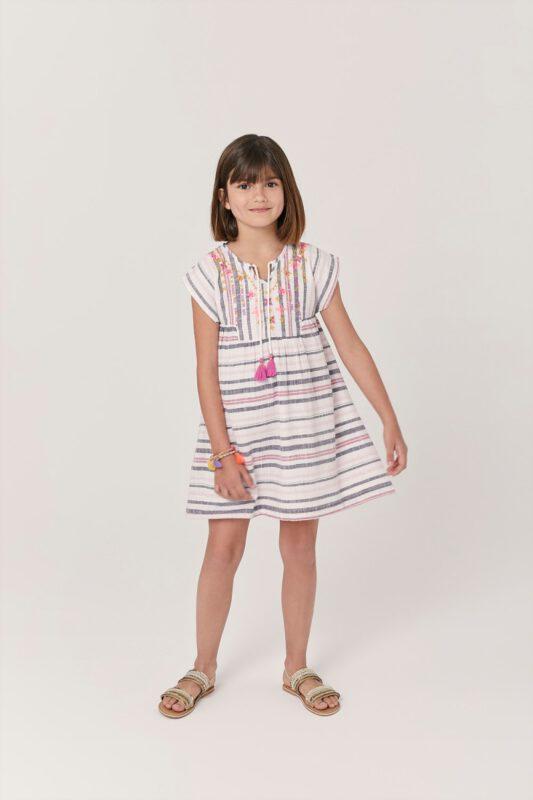 vestido tunica nena rapsodia girls verano 2022